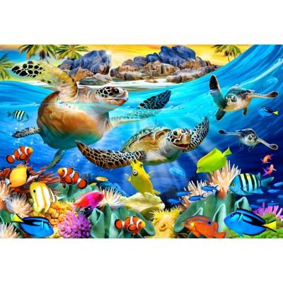Bluebird-Puzzle - 260 Teile - Turtle Beach
