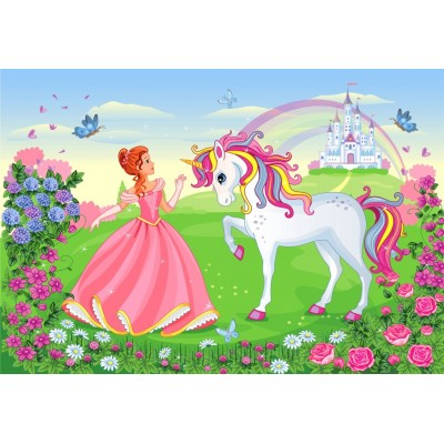 Bluebird-Puzzle - 260 pièces - The Princess and the Unicorn