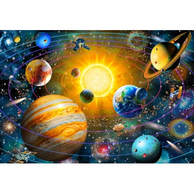 Bluebird-Puzzle - 260 pieces - Ringed Solar System