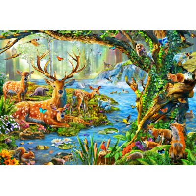 Bluebird-Puzzle - 260 Teile - Forest Life