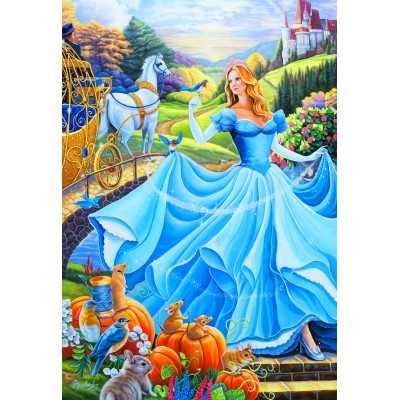 Bluebird-Puzzle - 260 pieces - Cinderella
