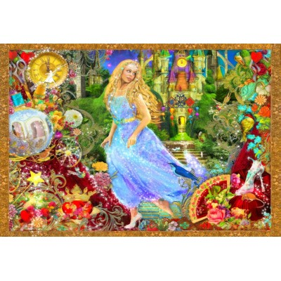 Bluebird-Puzzle - 260 pieces - When The Clock Strikes Midnight