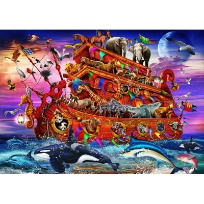 Bluebird-Puzzle - 100 pieces - The Ark