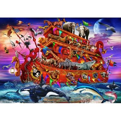 Bluebird-Puzzle - 100 Teile - The Ark