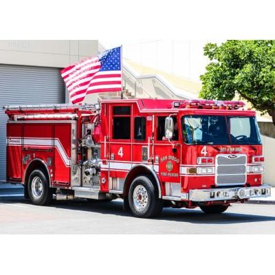 Bluebird-Puzzle - 150 Teile - Fire Engine