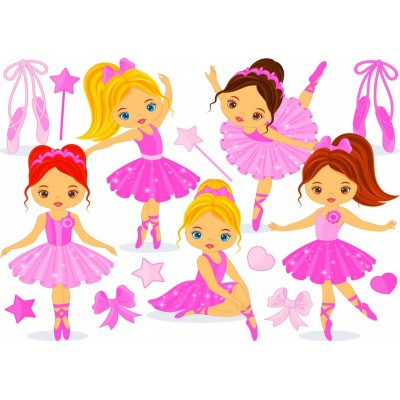 Bluebird-Puzzle - 150 Teile - Little Ballerinas