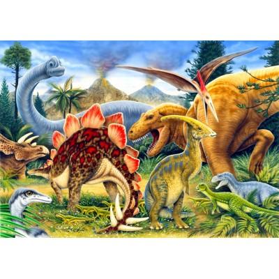 Bluebird-Puzzle - 100 pieces - Dinosaurs
