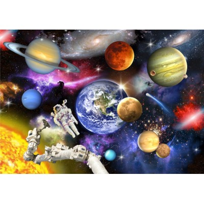 Bluebird-Puzzle - 150 Teile - Outer Space