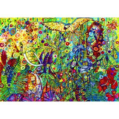 Bluebird-Puzzle - 1500 pieces - The Rainforest