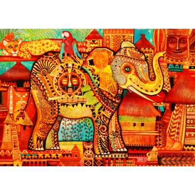 Bluebird-Puzzle - 1500 pieces - Africa