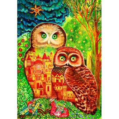 Bluebird-Puzzle - 1000 pièces - Owls