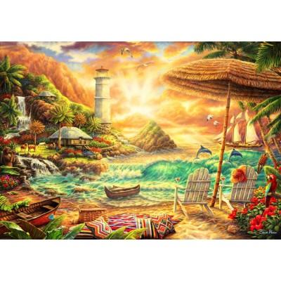 Bluebird-Puzzle - 1000 Teile - Love the Beach