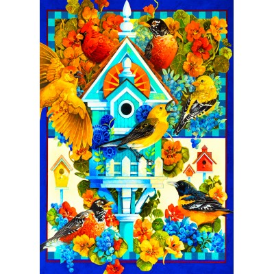 Bluebird-Puzzle - 1000 Teile - The Avian Sanctuary