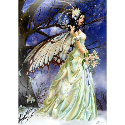 Bluebird-Puzzle - 1000 Teile - Mist Bride