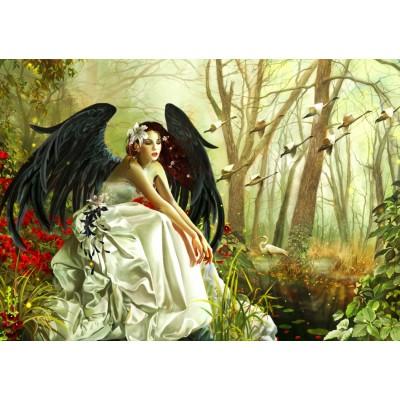 Bluebird-Puzzle - 1000 pièces - Swan Song