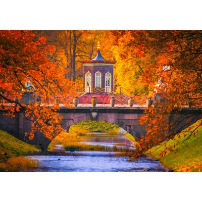 Bluebird-Puzzle - 1500 pieces - Park of Pushkin, Russia