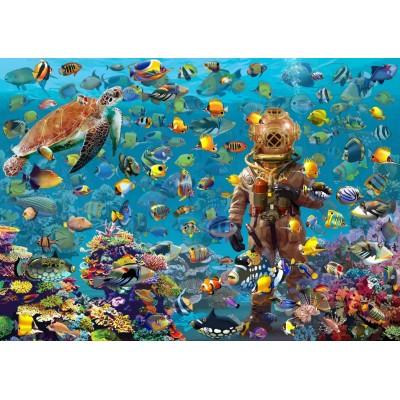 Bluebird-Puzzle - 3000 pièces - Under the Sea