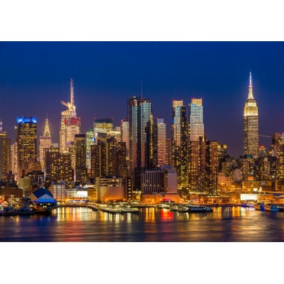 Bluebird-Puzzle - 2000 pièces - New York by Night