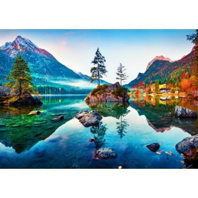 Bluebird-Puzzle - 1000 pieces - Hintersee Lake, Germany