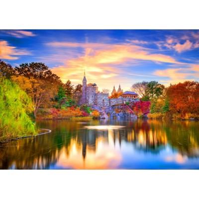 Bluebird-Puzzle - 1000 pieces - Belvedere Castle, New York
