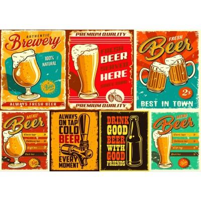 Bluebird-Puzzle - 1000 pieces - Beers