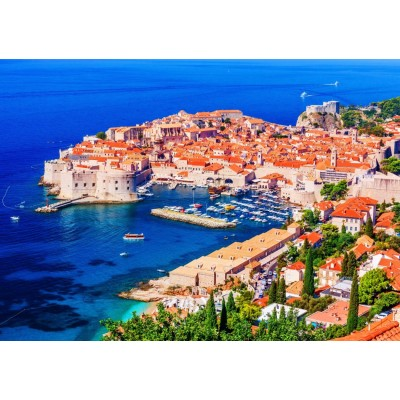 Bluebird-Puzzle - 1500 pieces - The Old Town of Dubrovnik, Croatia