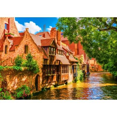 Bluebird-Puzzle - 1500 pieces - Bruges Old Town, Belgium