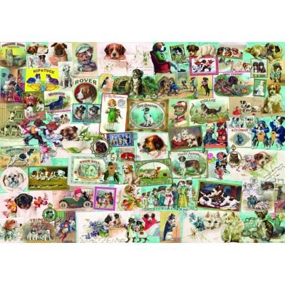 Bluebird-Puzzle - 1500 pieces - Dogs