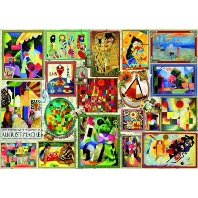 Bluebird-Puzzle - 3000 pièces - Famous Pictures