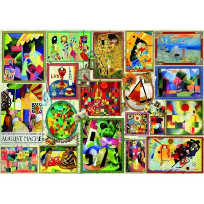 Bluebird-Puzzle - 3000 Teile - Famous Pictures