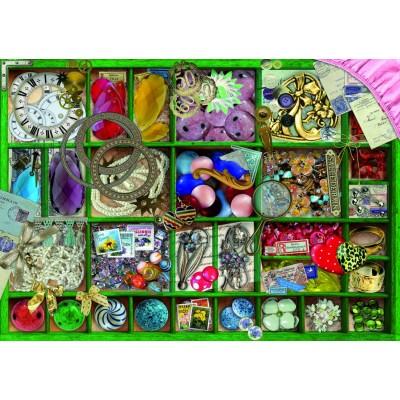 Bluebird-Puzzle - 1000 pieces - Green Collection