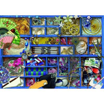Bluebird-Puzzle - 1000 pieces - Blue Collection