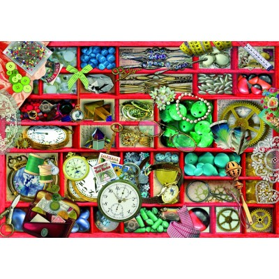 Bluebird-Puzzle - 1000 pièces - Red Collection
