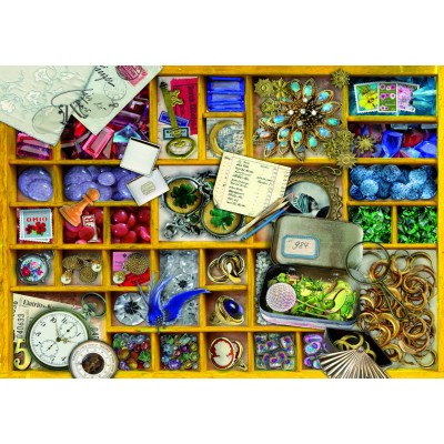 Bluebird-Puzzle - 1000 pieces - Yellow Collection