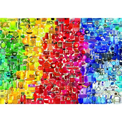 Bluebird-Puzzle - 1000 Teile - Coloured Things