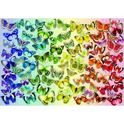 Bluebird-Puzzle - 1000 Teile - Butterflies