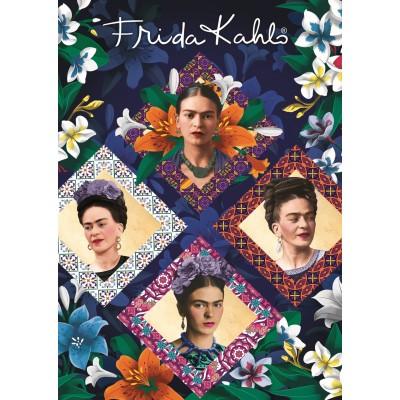Bluebird-Puzzle - 1000 pièces - Frida Kahlo