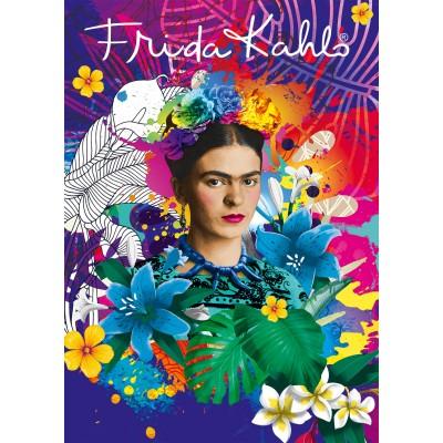 Bluebird-Puzzle - 1500 pieces - Frida Kahlo