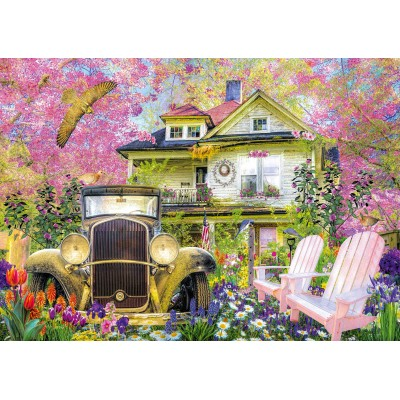 Bluebird-Puzzle - 1000 pièces - Bit of Nostalgia