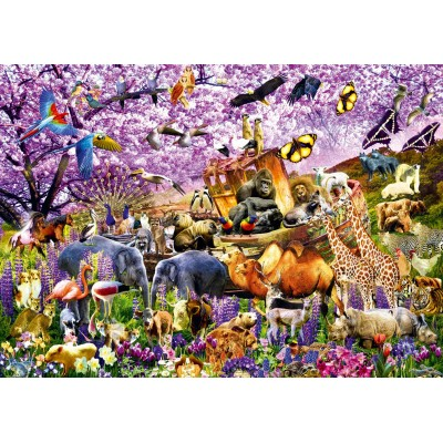 Bluebird-Puzzle - 1000 Teile - Two By Two at Noah's Ark
