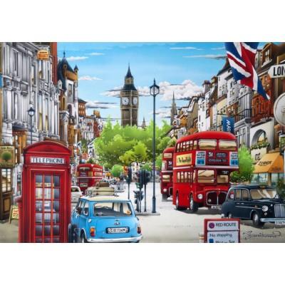 Bluebird-Puzzle - 1000 pieces - London