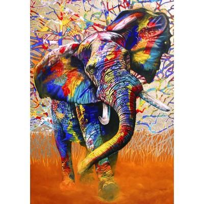 Bluebird-Puzzle - 1000 pieces - African Colours