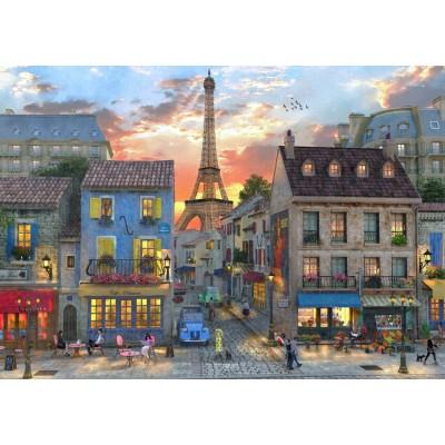 Bluebird-Puzzle - 2000 pieces - Streets of Paris