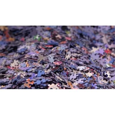Bluebird-Puzzle - 1000 pièces - Puzzle d'Art Mystère sans Boite & sans Image - Sachet de 1000 Pièces